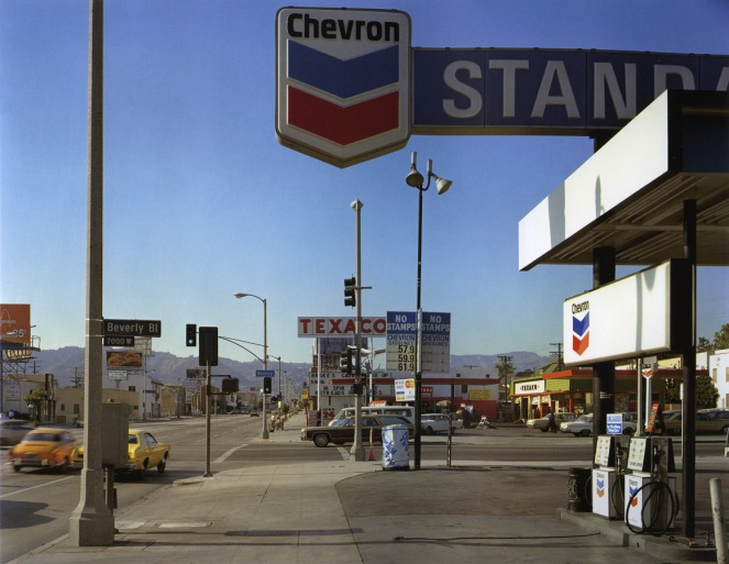 Stephen Shore, Beverly Blvd and La Brea Ave. Los Angeles, California, 1975