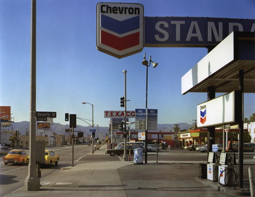 Stephen Shore, Beverly Blvd and La Brea Ave. Los Angeles, California, 1975